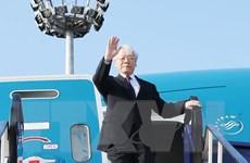 Hình ảnh Tổng Bí thư Nguyễn Phú Trọng thăm chính thức Hungary