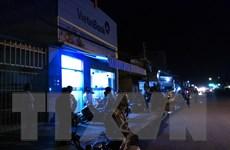 Tiền Giang: Phòng giao dịch của VietinBank tại Châu Thành bị cướp