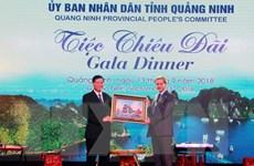 Tổ chức tiệc chiêu đãi các đại biểu tham dự WEF ASEAN 2018