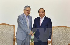 Thủ tướng Nguyễn Xuân Phúc tiếp lãnh đạo Ủy hội sông Mekong quốc tế