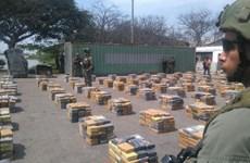 Colombia bắt giữ 10 đối tượng bị cáo buộc tàng trữ 13,4 tấn cocaine