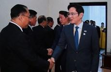 Các chủ doanh nghiệp Hàn Quốc hội kiến Phó Thủ tướng Triều Tiên