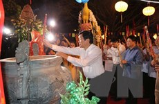 Tưởng niệm 718 năm ngày mất của Hưng Đạo Đại Vương Trần Quốc Tuấn