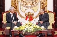 Phó Thủ tướng Singapore có nhiều kỷ niệm với gia đình Chủ tịch nước