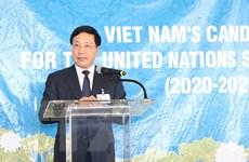 Việt Nam sẽ hoàn thành trọng trách của một thành viên Hội đồng Bảo an