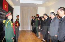 Mở sổ tang Chủ tịch nước Trần Đại Quang tại Pháp, Ukraine và Italy