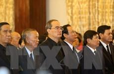 Lễ truy điệu Chủ tịch nước Trần Đại Quang tại Thành phố Hồ Chí Minh