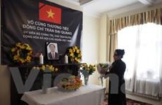 Lễ viếng và mở sổ tang Chủ tịch nước Trần Đại Quang tại một số nước