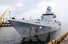 Đoàn sỹ quan, thủy thủ tàu Hải quân Brunei thăm thành phố Đà Nẵng