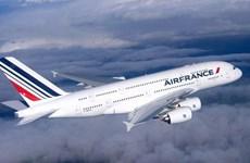 Miễn thuế hàng hóa nhập khẩu của Hãng hàng không Pháp Air France