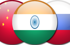 Ấn Độ nghĩ gì nếu Nga và Trung Quốc bắt tay hợp tác?