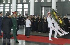 Các nước, các đảng chia buồn việc nguyên Tổng Bí thư Đỗ Mười từ trần