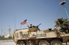 Syria: Mỹ điều các phương tiện quân sự từ Raqqa tới Manbij
