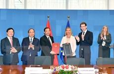 Việt Nam-EU ký Hiệp định đảm bảo gỗ xuất châu Âu có nguồn gốc hợp pháp