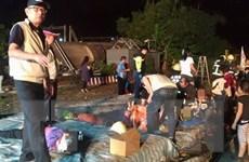 Tàu hỏa trật đường ray ở Đài Loan: Ít nhất 22 người đã thiệt mạng