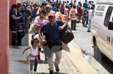 Mexico mở cửa biên giới cho phụ nữ và trẻ em di cư từ Honduras