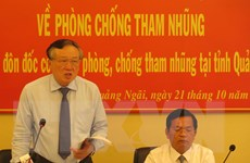 Quảng Ngãi kỷ luật 33 cán bộ, đảng viên có liên quan đến tham nhũng
