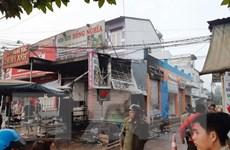Cửa hàng hoa bất ngờ bốc cháy trong đêm, 2 người chết ngạt