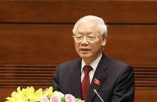 Điện và thư chúc mừng Tổng Bí thư, Chủ tịch nước Nguyễn Phú Trọng