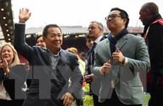 Giây phút hãi hùng khi trực thăng chở chủ tịch Leicester lâm nạn