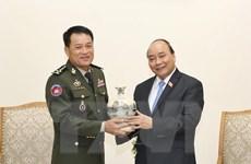 Tăng cường quan hệ hợp tác giữa quân đội Việt Nam-Campuchia