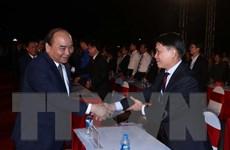 Hình ảnh Thủ tướng dự Lễ kỷ niệm 50 năm Chiến thắng Truông Bồn