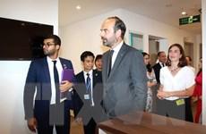 Thủ tướng Pháp dự lễ khai trương Trung tâm Y tế Pháp tại TP.HCM