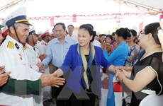 Chủ tịch Quốc hội dự Ngày hội Đại đoàn kết toàn dân tộc tại Thái Bình