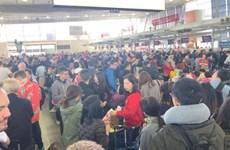 """Australia: Sân bay Sydney """"tê liệt"""" do hiện tượng thời tiết bất thường"""