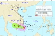 Bão số 9 hướng vào các tỉnh Bình Thuận-Bến Tre, TP.HCM mưa rất to