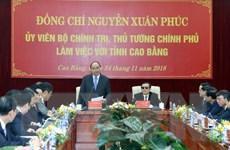 Thủ tướng yêu cầu tìm giải pháp đột phá để Cao Bằng phát triển