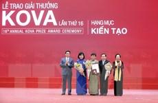 Nghiên cứu điều trị hồi phục chức năng thận giành giải thưởng KOVA