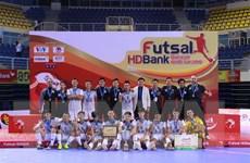 Thái Sơn Nam vô địch giải Futsal HDBank Cúp quốc gia 2018