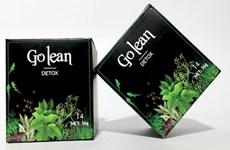 Thu hồi 2 lô thực phẩm Go Lean Detox có chứa chất cấm Sibutramin