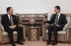 Ngoại trưởng Triều Tiên tuyên bố có chung kẻ thù với Syria
