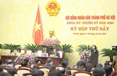 Hà Nội lấy phiếu tín nhiệm các chức danh do HĐND thành phố bầu