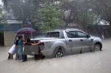 Mưa lớn làm nhiều nơi trên địa bàn tỉnh Quảng Nam bị ngập sâu