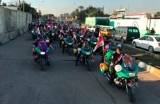 Đường phố Iraq trang hoàng rực rỡ kỷ niệm Ngày Chiến thắng IS
