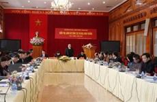 Chủ tịch Ủy ban TW Mặt trận Tổ quốc Việt Nam làm việc tại Yên Bái