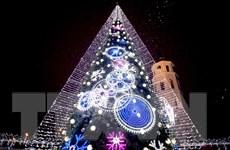 Ngắm những cây thông Noel rực rỡ nhất thế giới dịp Giáng sinh