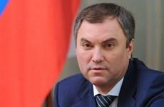 Chủ tịch Duma Quốc gia Liên bang Nga bắt đầu thăm chính thức Việt Nam