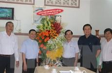Lãnh đạo tỉnh Long An thăm và chúc mừng Giáo xứ Hiệp Hòa