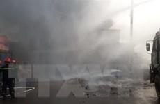 Đã xác định nguyên nhân gây ra vụ cháy xưởng gỗ ở Đồng Nai