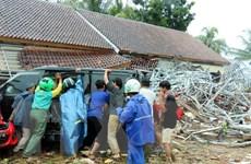 Sóng thần ở Indonesia: Việc tìm kiếm nạn nhân gặp khó do mưa nhiều