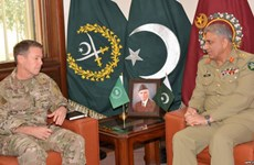 Tướng Mỹ và Pakistan thảo luận về hòa bình tại Afghanistan