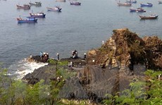 Danh thắng Gành Đá Đĩa kịp đón khách trở lại dịp Tết Dương lịch