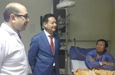 Hỗ trợ tối đa cho các du khách Việt Nam bị nạn tại Ai Cập