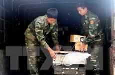Bắt giữ hai xe tải chở hàng điện tử, điện lạnh nhập lậu từ Campuchia