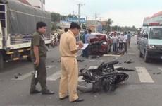 Gần 8.250 người chết vì tai nạn giao thông trong năm 2018