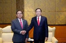 Thắt chặt hơn nữa mối quan hệ giữa Việt Nam và Campuchia